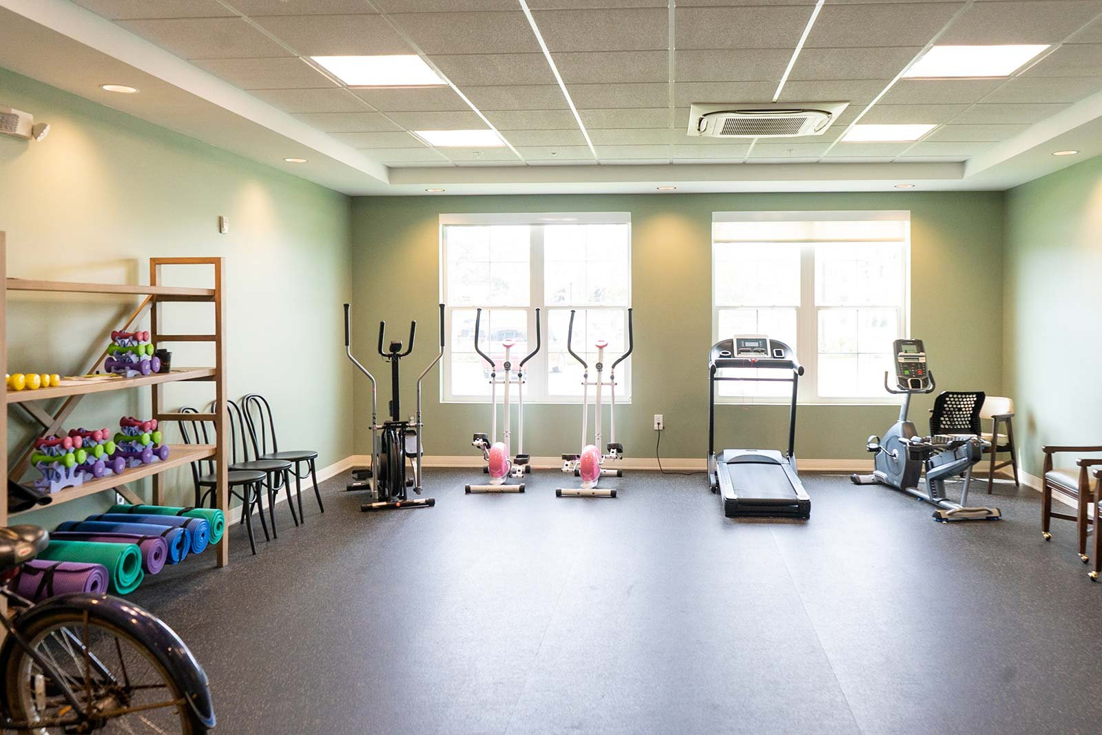Fitness center at The Arbors of Gulf Breeze in Gulf Breeze, FL