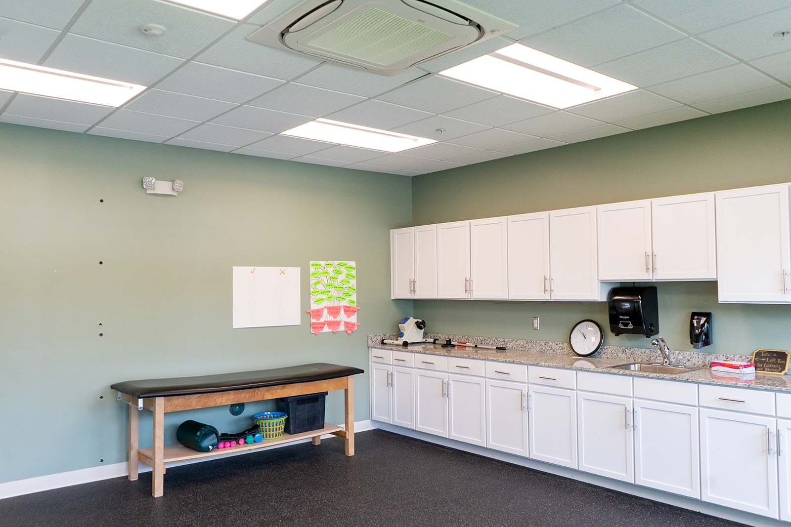 Therapy room at The Arbors of Gulf Breeze in Gulf Breeze, FL